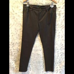 Ralph Lauren Dark Brown Leather Pants